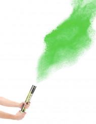 Cannone sparacoriandoli polvere verde