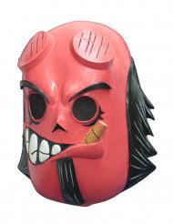 Maschera diavolo rosso - Dia de los muertos di Calaveritas® per adulti