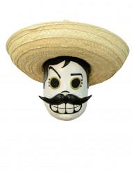 Maschera Dia de los muertos adulto di Calaveritas®- Halloween