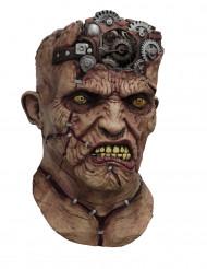 Maschera integrale da Frankstein meccanico animato - Halloween