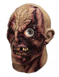 Maschera da zombie occhio animato - adulto