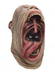 Maschera integrale urlo bocca aperta adulto halloween