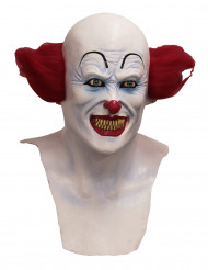 Maschera integrale clown diabolico adulto Halloween