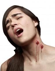 Trucco Halloween: finta ferita morso di vampiro
