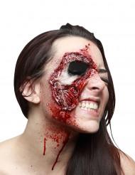 Finta Cicatrice viso strappato adulto per Halloween