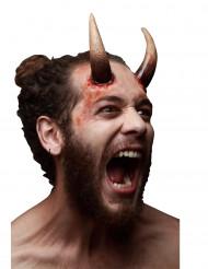 Trucco di Halloween: lunghe corna da diavolo adulto