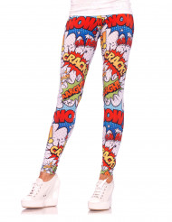 Leggings comics da donna