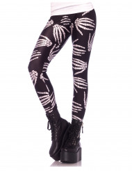 Leggings scheletro donna Halloween