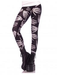 Leggings scheletro donna Halloween