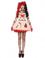 Costume bambola vudù donna Halloween