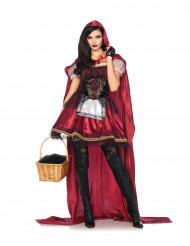 Costume Cappuccetto Rosso stile bavarese donna