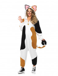 Costume tuta gatto donna