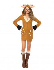 Costume cerbiatto donna