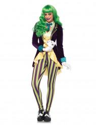 Costume da giullare malefico donna Halloween
