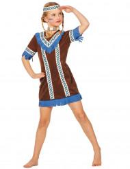 Costume da Indiana d'America bambina