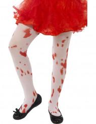 Calze insanguinate da bambina per Halloween