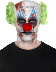 Kit trucco e accessorio clown killer per adulto Halloween