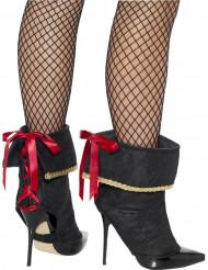 Copriscarpe da pirata sexy per donna