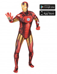 Costume Morphsuits™ Zappar Iron man™ adulto