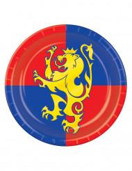 Piatti medievali 23 cm