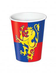 8 Bicchieri stemma medievale