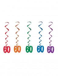 5 Ghirlande verticali 60 anni