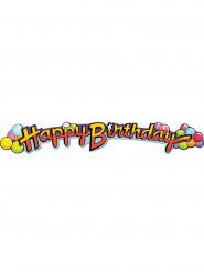 Ghirlanda Happy Birthday palloncini