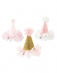 Image of Mini cappello con tulle e pompon