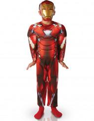 Costume imbottito deluxe Iron Man™ per bambino