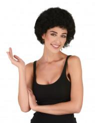 Parrucca afro/ clown nera standard per adulto