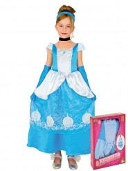 Costume da principessa romantica delle fiabe per bambina con cofanetto