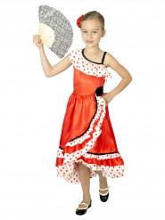 Costume da danzatrice di flamenco per bambina