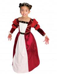 Costume da contessa medievale per bambina