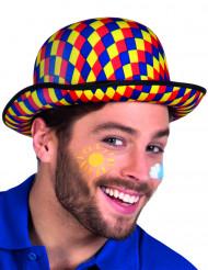 Bombetta da clown colorata