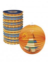 2 lanterne di carta Indiani d