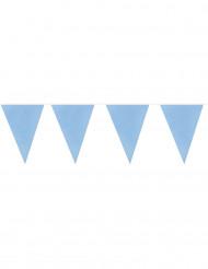 Ghirlanda 20 bandierine blu