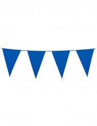 Ghirlanda di bandierine blu 10 m