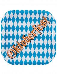 Confezione di 6 piatti in cartone Oktoberfest