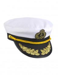 Cappello da capitano della marina per adulto