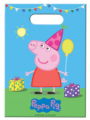 8 Sacchetti per caramelle Peppa Pig™