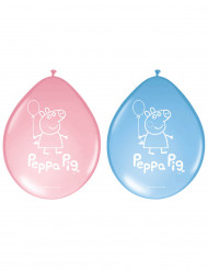 8 palloncini in lattice Peppa Pig™