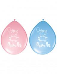 8 palloncini in lattice Peppa Pig™