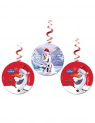 3 decorazioni da appendere Olaf Christmas™