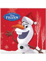 20 tovaglioli di carta Olaf Christmas™