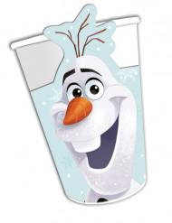 8 bicchieri di cartone Olaf Christmas™