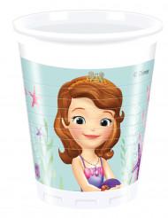 8 bicchieri di plastica Princesse Sofia™