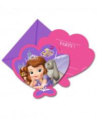 6 Cartoncini d'invito Sofia la principessa™