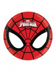 8 piatti di cartone Ultimate Spiderman™