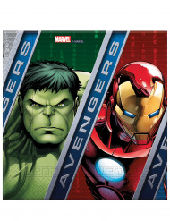 20 tovaglioli di carta Avengers Power™ 33 cm