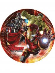 8 piatti di cartone Avengers Age of Ultron™